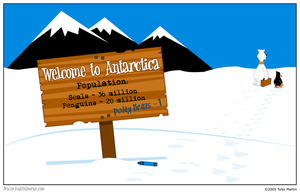 0001 Welcome To Antarctica by wallyandosborne