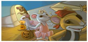 Mouse Halloween by WilsonWJr