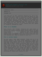 dark and simple - journal CSS by RestlessLynx