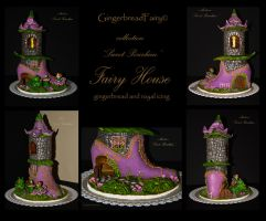 Gingerbread Fairy house. Details by GingerbreadFairy