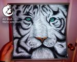 White Tiger by MarieJaneWorks
