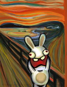 Bunnies Do Scream by MisterIngo