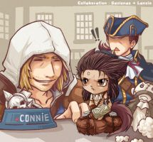 Collab : The Kenway by sazienas
