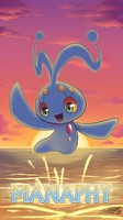 Pokemon 20th Anniversary- Manaphy