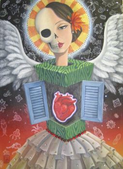 Skull Angel by LaineB