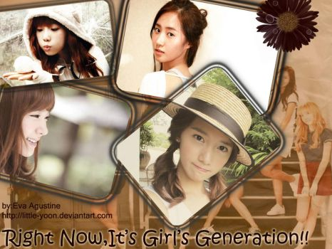 Right Now It's Girl's Generation by Little-Yoon