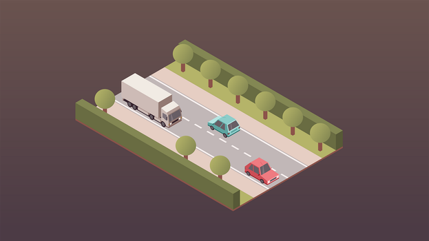 Isometric Traffic by kartine29