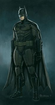 Batman Affleck Concept by Habjan81