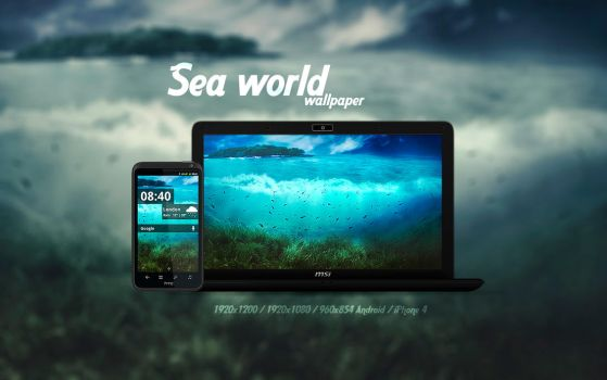 Sea World Wallpaper by Martz90