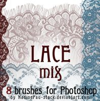 Lace mix by NadinePau-stock