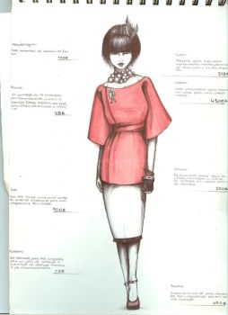 Graphic Diary-- Vogue by Moruto