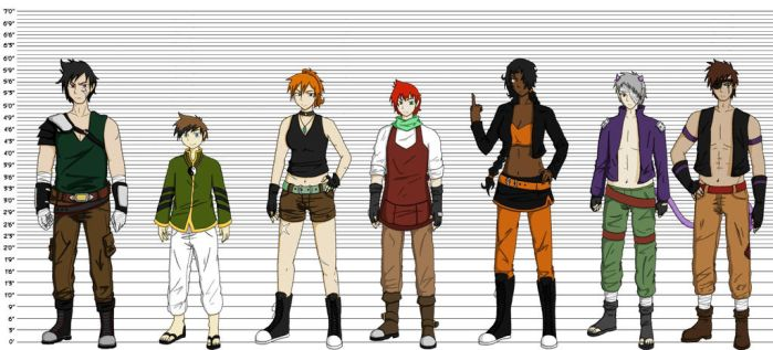 Height Chart part 1 by dogs062