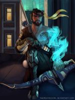 Overwatch: Hanzo by TheObliviousOwl