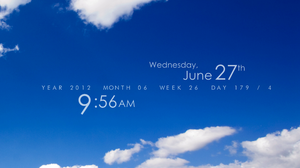 Elementary Rainmeter 1.5.1 (old) by FlyingHyrax