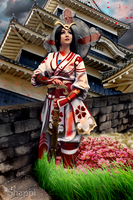 Smite - Shining Heaven Amaterasu by puppet-soul