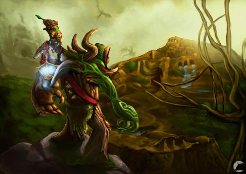 From Twisted Treeline to Summoner's Rift by AdrianWolve