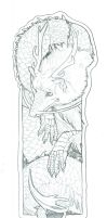 forest spirit bookmark by Anarchpeace
