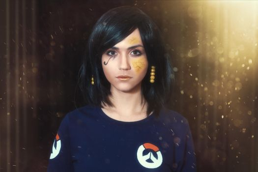 Casual Pharah (Overwatch) by 2ravens