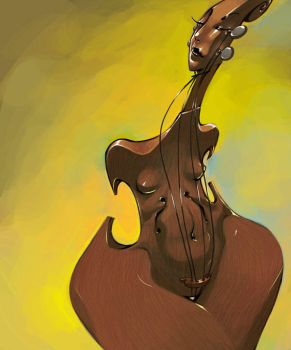 Chocolate Cello by biz20