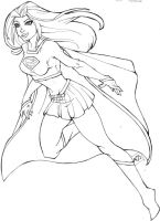 INK Animated Supergirl by KittysTavern