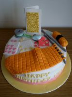 Craft Cake by sparks1992