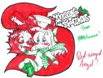 red-winged-angel X-mas gift by MMHinman