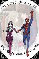 Spider-man and Spider-Gwen by isansesu0803