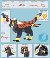 Kenny - Hawksfeathers97 - Braviary by Hawksfeathers97