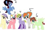 Rocker Pony Adoptables by MonstrousPegasister