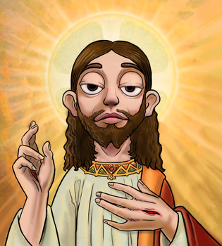Stingy Jesus Christ by killb94