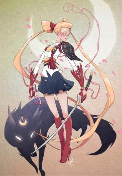 Character Design Challenge: Sailormoon by engkit