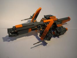 Heavy freighter by OmittedSynapse
