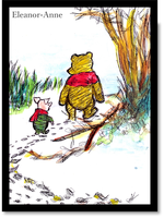 Winnie the Pooh and Piglet by Eleanor-Anne6