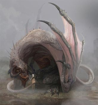 dragon by mold3531