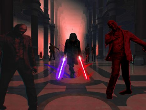 Star Wars Episode X Attack of the zombies by Blackfire-Orin