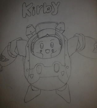 Kirby planet robobot by Marcos1094