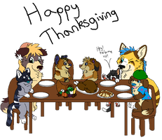A thanksgiving Dinner by Fuchsianess