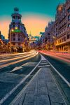 Gran Via, Madrid by hessbeck-fotografix