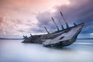 The Dead Ship by doedyjepang