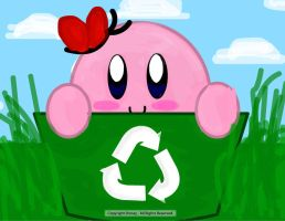 Let's Go Green With Kirby by CubedCake