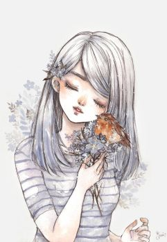 Forget Me Not by cherriuki