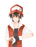 Trainer Red by oOCreamyCupcakeOo