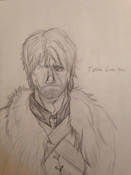 Tyrion Lannister Rough Drawing by HatedKyougoku13