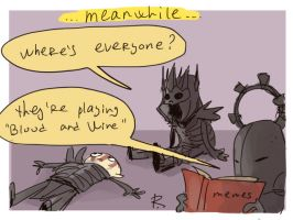 The Witcher 3, doodles 92 by Ayej