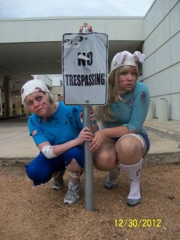 Finn and Fionna in Adventure Time Gone Wrong by another2luvers