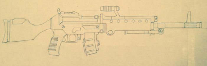 Squad automatic weapon by prodoomer1