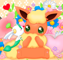 Floette And Flareon