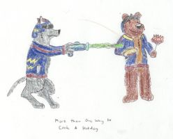 Lasers and Hot Dogs by Traxer