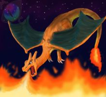 Charizard by maelthra-chath