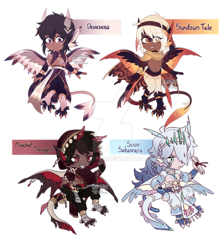 [CLOSED, TY!!] Serafin Flatsale 07 by dracooties